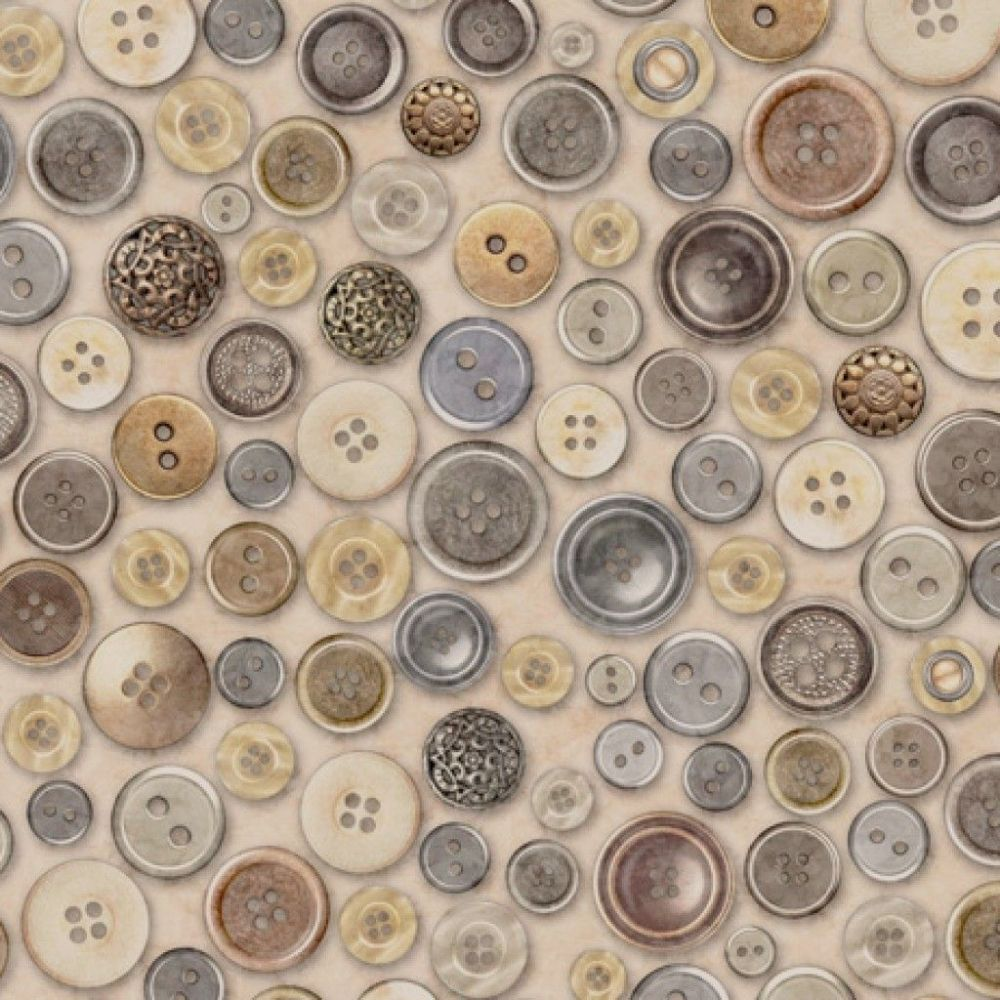 QT Fabrics - Cotton Couture - Buttons